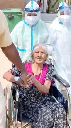 98 Years Covid Lady